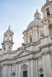 Kościół Sant Agnese w Agone Obrazy Stock