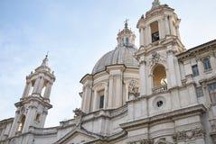 Kościół Sant Agnese w Agone Zdjęcie Stock