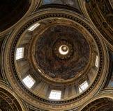 Kościół Sant ` Agnese w Agone jest jeden odwiedzeni kościół w Rzym Zdjęcie Royalty Free