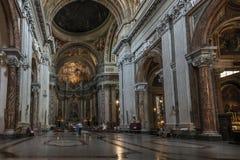 Kościół sant'Ignazio Di Loyola w Rzym, Włochy Fotografia Stock