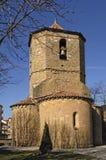 Kościół Sant polityk w Sant Joan De Les Abadesses, Ripolles, Giro zdjęcia royalty free
