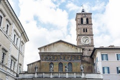 Kościół Santa Cecilia w Trastevere, Rzym, Włochy fotografia royalty free