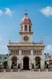 Kościół Santa Cruz kaplica Bangkok, Tajlandia (,) Fotografia Stock