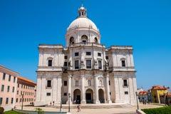 Kościół Santa Engrà ¡ cia Lisbon, Portugalia - Krajowy panteon - Obrazy Stock