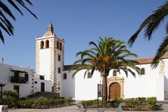 Kościół Santa Maria de Betancuria Obrazy Royalty Free