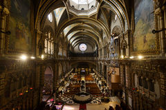 Kościół Santa Maria de Montserrat monaster Obrazy Royalty Free