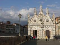 Kościół Santa Maria della Spina w Pisa tuscany Obrazy Royalty Free