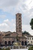 Kościół Santa Maria w Cosmedin w Rzym, Włochy obrazy stock