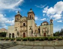 Kościół Santo Domingo De Guzman, Oaxaca -, Meksyk Fotografia Stock