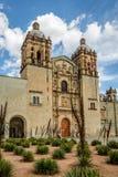 Kościół Santo Domingo De Guzman, Oaxaca -, Meksyk Zdjęcie Royalty Free