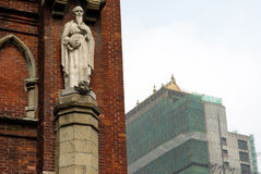kościół Shanghai Fotografia Royalty Free