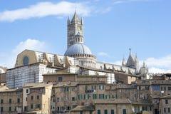 Kościół Siena Zdjęcie Royalty Free