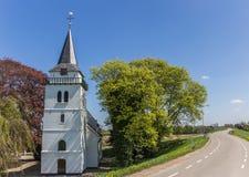 Kościół Slijk-Ewijk obrazy royalty free