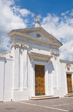 Kościół SS. Maria della Luka. Mattinata. Puglia. Włochy. Fotografia Royalty Free