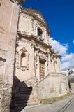 Kościół St. Agostino. Massafra. Puglia. Włochy. Zdjęcia Stock