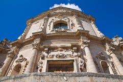 Kościół St. Agostino. Massafra. Puglia. Włochy. Zdjęcie Royalty Free