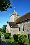 Kościół St Andrews, Bishopstone Zdjęcia Royalty Free
