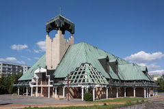 Kościół St Barbara Obrazy Royalty Free