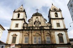 Kościół St. Francis Assisi w Salvador, Bahia Obraz Royalty Free
