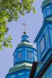 Kościół St George - kopuła świątynny (1769) Zdjęcia Stock