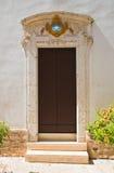 Kościół St Giovanni dei grecja Martina Franca Puglia Włochy obrazy stock