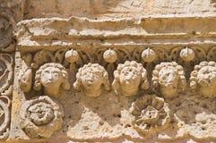 Kościół St Giovanni Matera Basilicata Włochy zdjęcia royalty free