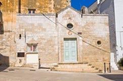 Kościół St. Giovanni. Monopoli. Puglia. Włochy. zdjęcie stock
