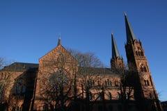 Kościół St Johann, Freiburg, Niemcy zdjęcia stock