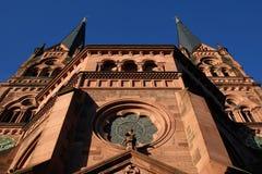 Kościół St Johann, Freiburg, Niemcy zdjęcie stock