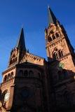 Kościół St Johann, Freiburg, Niemcy zdjęcie royalty free