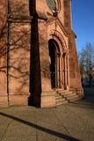 Kościół St Johann, Freiburg, Niemcy obraz stock