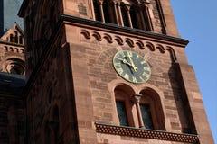 Kościół St Johann, Freiburg, Niemcy fotografia royalty free