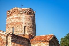 Kościół St John baptysta w starym Nesebar, Bułgaria Obrazy Royalty Free