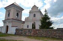 Kościół St John Baptystyczny kościół katolicki, agro HalÅ ¡ wcale Zdjęcie Stock