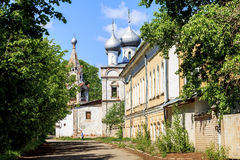 Kościół St John Chrysostom w Vologda obraz royalty free