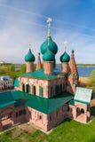 Kościół St John Chrysostom w Yaroslavl złoty pierścionek Rosji obraz stock
