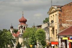 Kościół St John teolog w Chełmskim Polska obraz stock