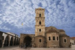 Kościół St Lazarus przy Larnaka, Cypr Zdjęcia Royalty Free
