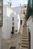 Kościół St Lucia przy Cisternino na Puglia Zdjęcia Royalty Free
