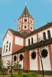 Kościół St Margareta w Gerresheim okręgu, Dusseldorf zdjęcia stock