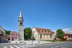 Kościół St Martin w SeÅ ¾ Ana, Slovenia obrazy royalty free