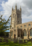 Kościół St Mary dziewicy St Neots Fotografia Royalty Free