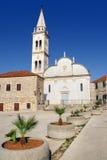 Kościół St. Mary, Jelsa, Hvar, Chorwacja Zdjęcie Stock