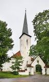 Kościół St Michael w Johvi Estonia fotografia royalty free
