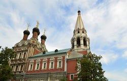 Kościół St. Nicholas na Bolvanovk Obrazy Royalty Free