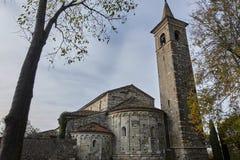 Kościół St Pancrazio Montichiari Brescia Włochy Zdjęcia Royalty Free