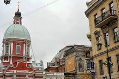 Kościół St Panteleimon na Pestel ulicie zdjęcie stock