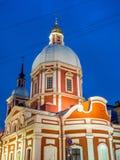 Kościół St Panteleimon uzdrowiciel, Świątobliwy Petersburg, Rosja obraz royalty free