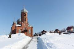 Kościół St Panteleimon uzdrowiciel, Rosja fotografia royalty free