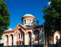 Kościół St Paraskeva, Vilnius Zdjęcie Royalty Free